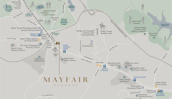 Mayfair Gardens Location Map Small Singapore